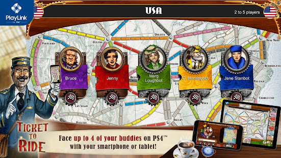 Ticket to Ride for PlayLink 2.7.2-6472-ceb1ea16 Screenshots 1