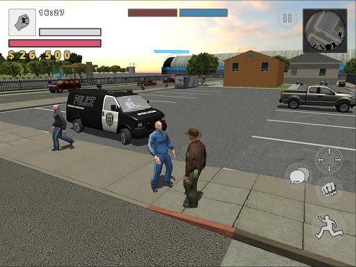Police Cop Simulator. Gang War  Screenshots 11