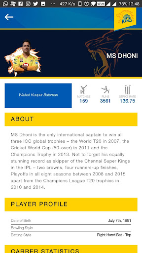 Chennai Super Kings 0.0.47 screenshots 5