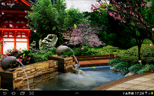 Eastern Garden Live Wallpaper Screenshot