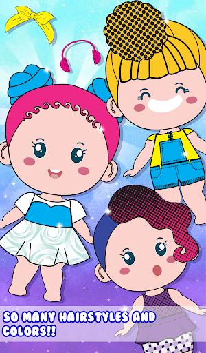 Chibbi dress up : Doll makeup games for girls 1.0.2 screenshots 2
