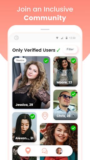 Curvy Singles Dating 1.0.16 screenshots 2