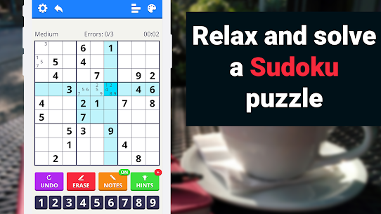 Sudoku Levels 2021 – free classic puzzle game 3