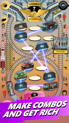 Train Merger - Idle Manager Tycoon apktram screenshots 18