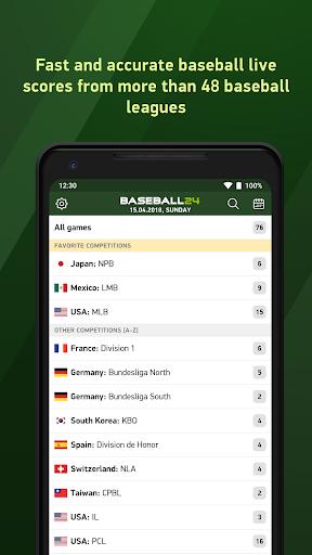 Baseball 24 - live scores Latest screenshots 1