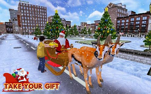 Christmas Santa Rush Gift Delivery- New Game 2020 2.5 Screenshots 2
