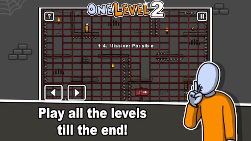 One Level 2: Stickman Jailbreak 1.8.1 screenshots 4