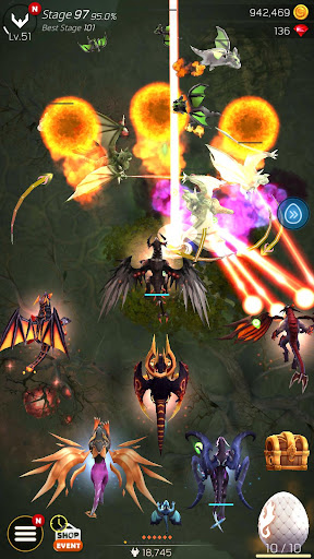 DragonSky : Idle & Merge android2mod screenshots 7