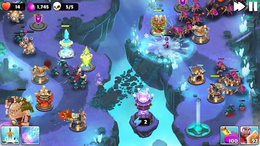 Castle Creeps TD - Epic tower defense 1.50.0 Screenshots 5