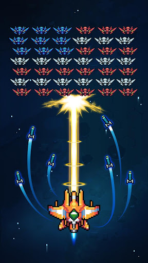 Galaxiga: Classic Galaga 80s Arcade - Free Games modavailable screenshots 18
