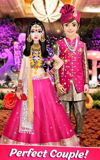 Indian Stylist Bride Dress up & Makeup Beauty Game screenshots 12
