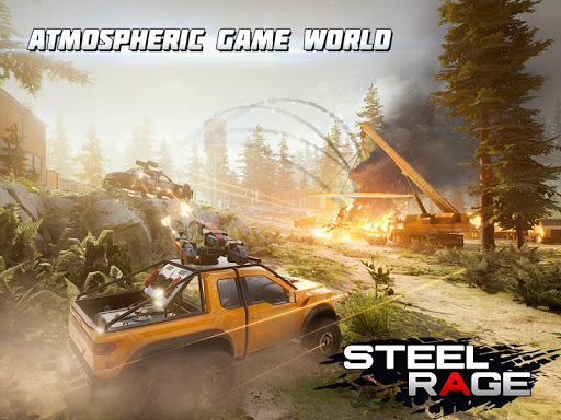 Steel Rage: Mech Cars PvP War, Twisted Battle 2020  screenshots 15