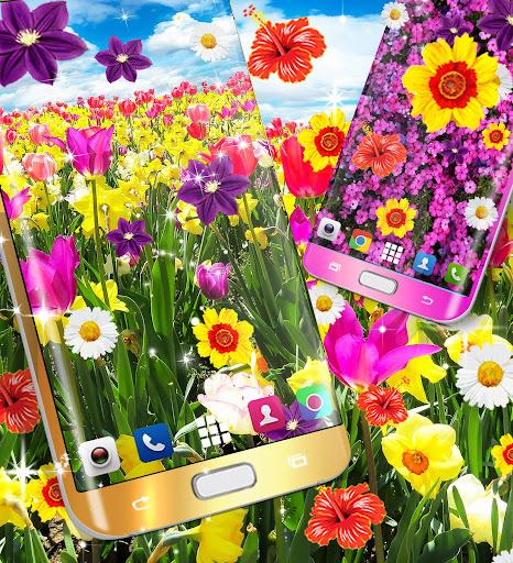 flowers live wallpaper screenshot 3