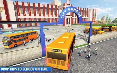 Free City School Bus Simulator 2019  Free driving 2