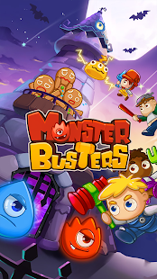 MonsterBusters: Match 3 Puzzle Screenshot