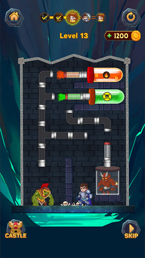 Hero Pipe Rescue: Water Puzzle 2.3 screenshots 6