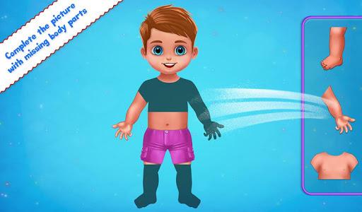 Human Body Parts - Preschool Kids Learning  screenshots 6