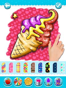 Glitter Ice Cream Coloring 5.4 Screenshots 24