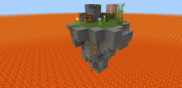 Mapas para Minecraft PE: skyblock survival 1