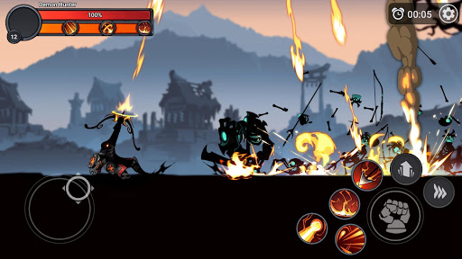 Stickman Master: League Of Shadow - Ninja Fight android2mod screenshots 1