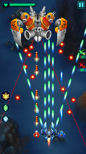 Galaxy attack : Alien shooting APK MOD – Pièces Illimitées (Astuce) screenshots hack proof 1