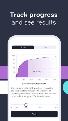 Lingvist: Learn Languages Fast screenshots 5