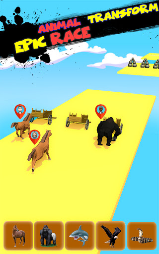 Epic Animal Dash Run 3D: Hop and Smash  screenshots 6