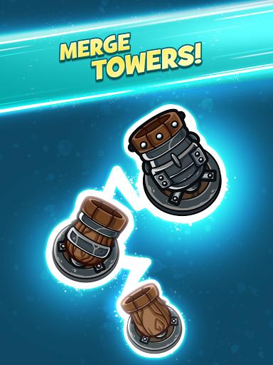 Merge Kingdoms - Tower Defense apkpoly screenshots 9