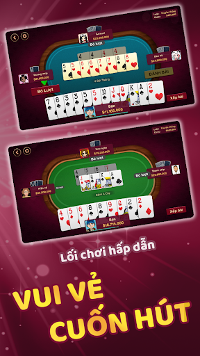 Tien Len - Tiu1ebfn Lu00ean Miu1ec1n Nam screenshots 2