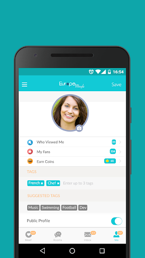 Europe Mingle - Dating Chat with European Singles 6.5.0 Screenshots 3