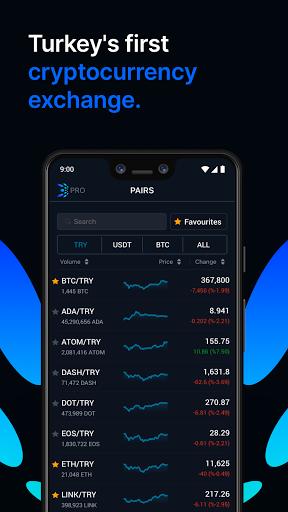 BtcTurk   PRO - Buy-Sell Bitcoin  screenshots 1