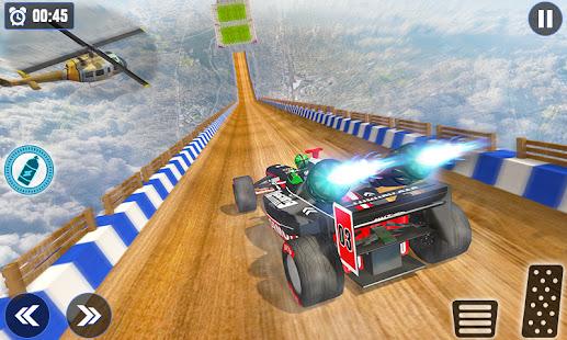 Superhero Mega Ramp Car Stunt: Crazy Car Racing