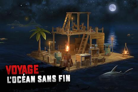 Raft Survival: Survie sur un radeau - Nomad screenshots apk mod 1