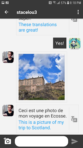 Unbordered - Foreign Friend Chat  screenshots 2