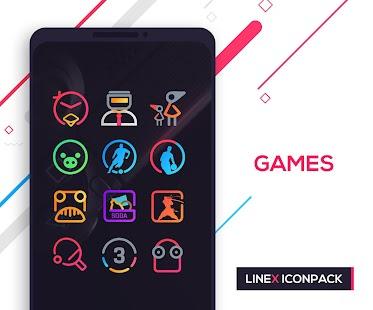 LineX Icon Pack Screenshot