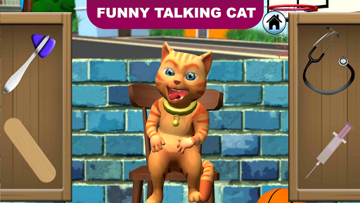Talking Cat Leo: Virtual Pet  screenshots 1