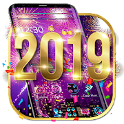 Happy New Year 2019 theme