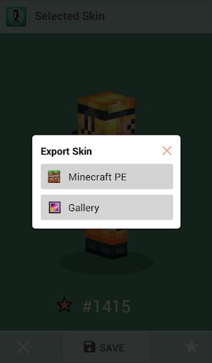 Skins for Minecraft PE 1.4 Screenshots 8