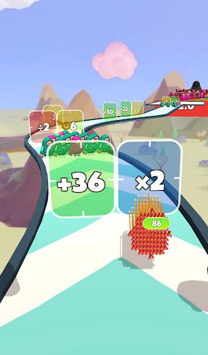 Flying Arrow Fest - Count Masters Brain Challenge  screenshots 5