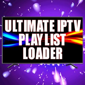 Ultimate IPTV Playlist Loader 4.54 by Antonio Dimitri logo