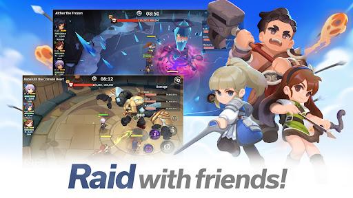 Raid Masters Online - Boss Raids  screenshots 1