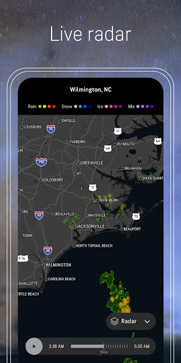 AccuWeather: Weather alerts & live forecast info android2mod screenshots 5