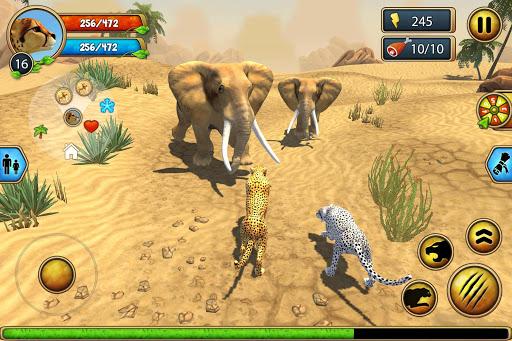 Cheetah Family Sim - Animal Simulator apktram screenshots 23