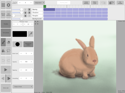 RoughAnimator - animation app Screenshot