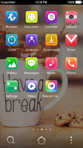 coffee break theme hd screenshot 2