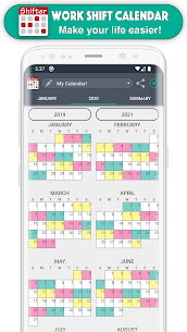 Work Shift Calendar Mod Apk (Pro/Paid Unlocked/PRO/EXTRA) 6