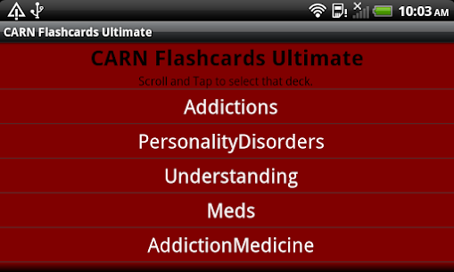 CARN Flashcards Ultimate For Pc (Windows 7, 8, 10 And Mac) 4