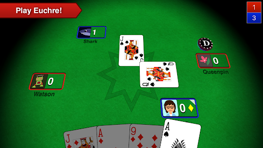 Euchre 3D 5.14 Android Mod + APK + Data 1