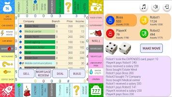 Monopolist - Business Dice Board