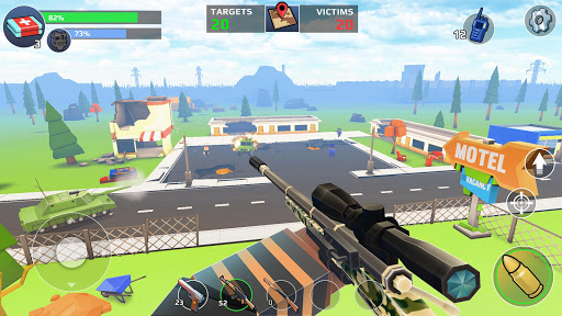 Code Triche PIXEL'S UNKNOWN BATTLE GROUND (Astuce) APK MOD screenshots 5